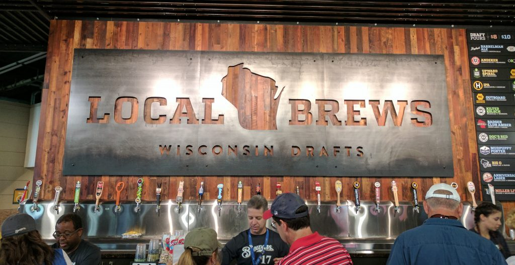 Miller Park Wisconsin Local Brews