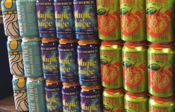 Oklahoma craft beer cans